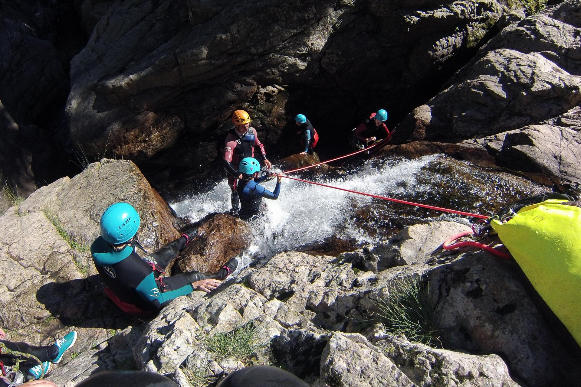 Canyoning Cévennes Tines